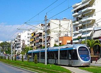 Athens Tram - A Sirio type tramway