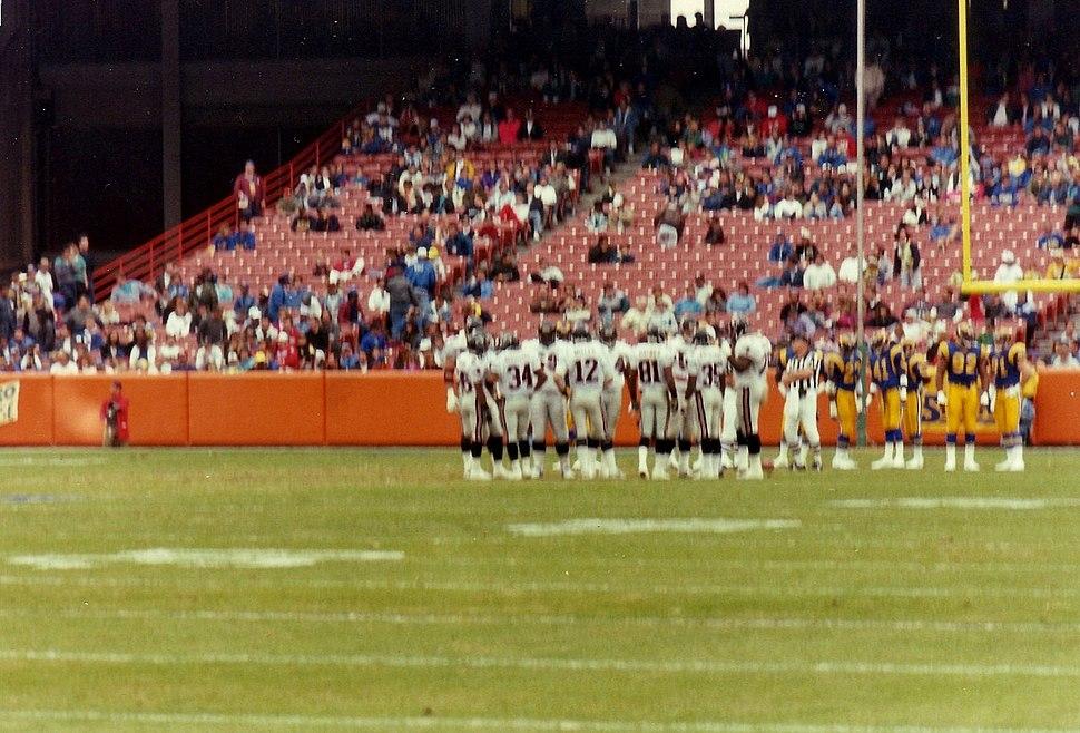 Atlanta Falcons at Los Angeles Rams 1991-12-08 - 01
