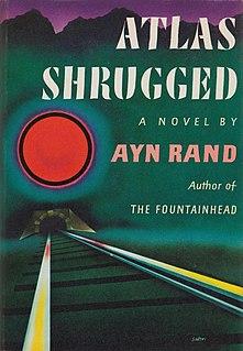 <i>Atlas Shrugged</i> 1957 novel by Ayn Rand