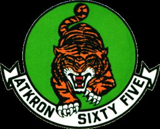 Second VA-65 (U.S. Navy) - VA-65 patch
