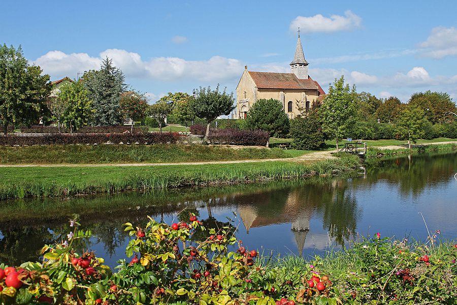 Église Saint-Génes d'Aubigny