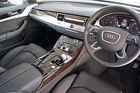 Audi a8 wikipedia interior pre facelift sciox Gallery