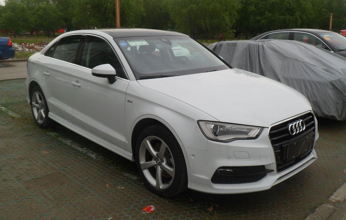 Audi A3 Sedan >> Audi A3 – Wikipedia