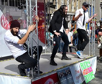Aunty Donna - Aunty Donna (Mark Samual Bonanno, Zachary Ruane, Broden Kelly) performing at Edinburgh Festival Fringe 2014