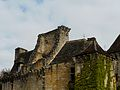 Auriac-du-Périgord Faye château toits sud.JPG