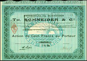 Th. Schneider - Image: Automobiles Th. Schneider & Cie 1912
