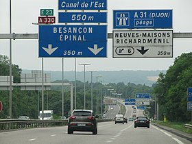 Image illustrative de l'article Autoroute A330 (France)