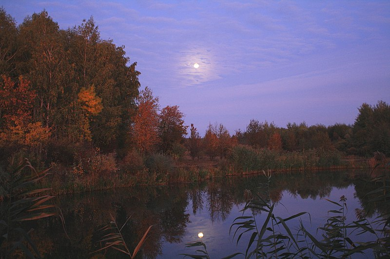 File:Autumn evening on the river Donec - panoramio.jpg