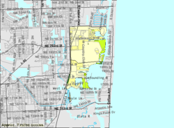 Brickell Zip Code Map.Aventura Florida Wikipedia