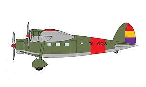 Trimotor - Avia 51