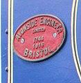 Avonside Engine Co. Limited. 1748 of 1916. Bristol works plate.jpg