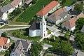 Az Árpád-kori templom légi felvételen.jpg