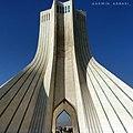 Azadi Tower, Tehran, Iran.jpg