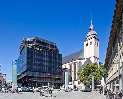Büro- und Geschäftshaus Dompropst-Ketzer-Str. 1-9 und St. Mariä Himmelfahrt Ostturm Köln-5400