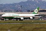 B-16408 - EVA Airways - Boeing 747-45E(M) - TAO (14580978710).jpg