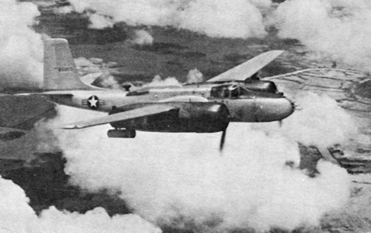 B-26B VNAF over Vietnam in early 1960s