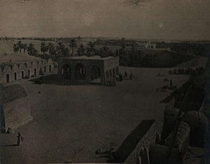 El Oued - El Oued bazaar in January 1913