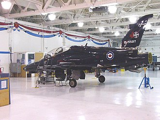 2 Canadian Forces Flying Training School - BAe CT155 Hawk of 2 CFFTS, at CFB Moose Jaw, 3 November 2005