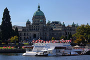BC Legislature Buildings and Undersea Gardens
