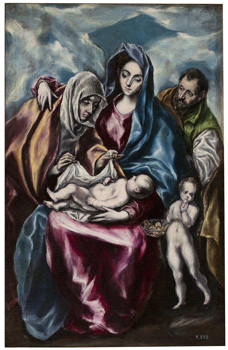 BMVB - Doménico Theotokópoulus - La Sagrada Família amb Santa Anna i Sant Joanet - 8606.jpg
