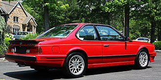 BMW 6 Series - E24 635CSi