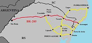 BR-285 - Image: BR 285