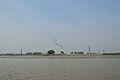 BSF Watchtower and Brickfield Chimneys - Hasnabad - River Ichamati - North 24 Parganas 2015-01-13 4487.JPG