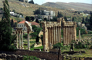 Phoenicia under Roman rule - Actual ruins of Baalbeck