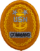 Badge of a United States Navy command master chief petty officer (embroidered).png