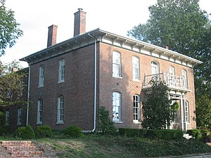 National Register of Historic Places listings in Marion County, Illinois - Image: Badollet House in Salem