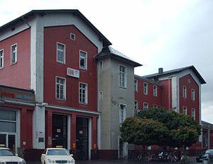 Soest (Germany) station - Image: Bahnhof Soest