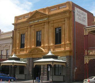 Art Gallery of Ballarat - Image: Ballarat fine art gallery