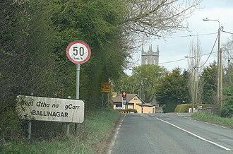 Ballinagar - Image: Ballinagar R402
