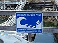 Bamfield Tsunami Hazard Zone sign.jpg