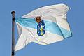 Bandeira de Galicia no Pazo de Raxoi.jpg