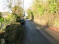 Bank Road, leaving Aldington - geograph.org.uk - 1670496.jpg
