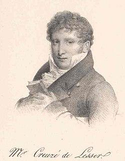 Auguste Creuzé de Lesser French politician, poet and librettist