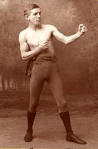 Jimmy Barry en 1890