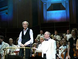 John Barry en Paul Bateman, Royal Albert Hall, September 2006
