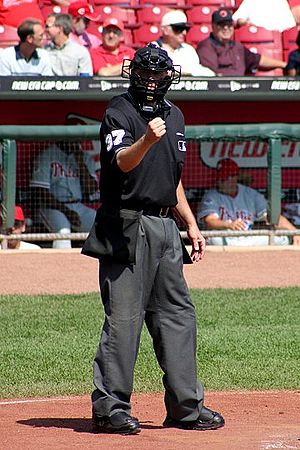 Gary Darling, Baseball umpire