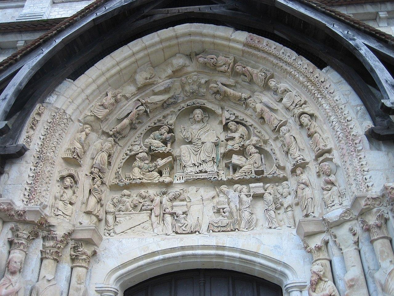 Bon Vendredi 1280px-Basilique_Saint_Benoit_sur_Loire_tympan