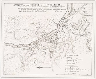 Battle of Blandford - Image: Battle Of Petersburg 1781