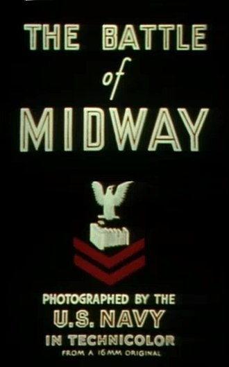 The Battle of Midway (film) - Image: Battle of Midway (1942 documentary) intro 2