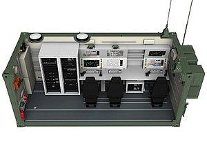 Bayraktar Tactical UAS - Bayraktar GCS cutaway