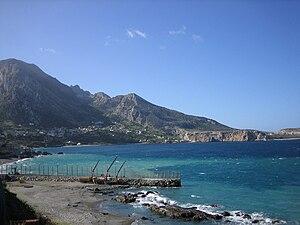 A beach in Ceuta