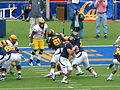 Bears on offense at Arizona State at Cal 2010-10-23 15.JPG