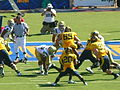 Bears on offense at UCLA at Cal 2010-10-09 16.JPG