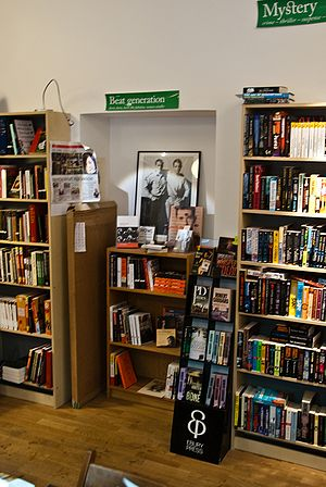 Beat Generation - A section devoted to the beat generation at a bookstore in Stockholm, Sweden