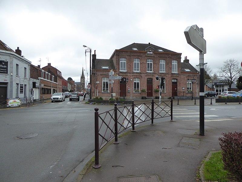 Mairie de Beaucamps-Ligny, France