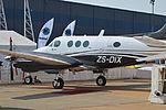 Beech C90 King Air 'ZS-DIX' (16754038429).jpg